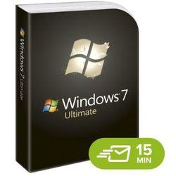 Windows 7 Ultimate, licencja elektroniczna