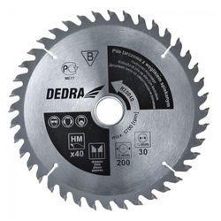 Tarcza do cięcia DEDRA H450100 450 x 30 mm do drewna + DARMOWY TRANSPORT!