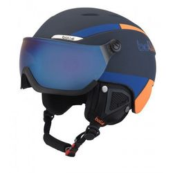 Kask Bolle B-Yond Visor Navy & Orange with Amber Blue Visor