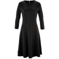 Sukienka Punto di Roma, rękawy 3/4, z kolekcji Maite Kelly bonprix czarny