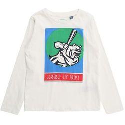 TOM TAILOR Koszulka błękitny / zielony / jasnoczerwony / biały