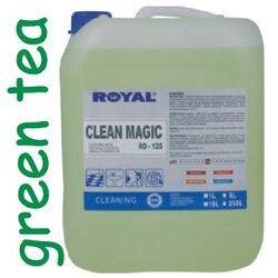 Preparat do mycia i dezynfekcji Clean Magic green tea 5l