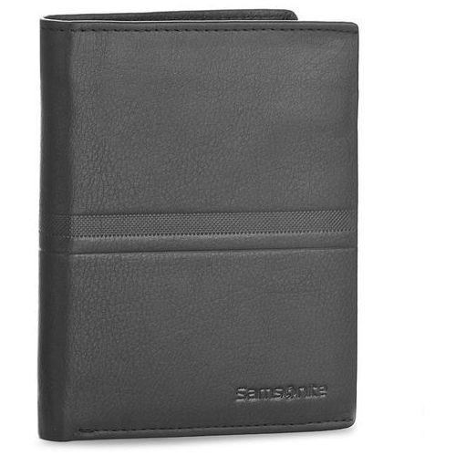 Portfele i portmonetki, Duży Portfel Męski SAMSONITE - 001-015A0-0098-01 Black