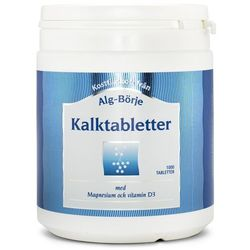 Kalktabletter Wapń, Alg-Börje, 1000 tabletek