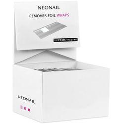 NEONAIL Folie do usuwania lakieru hybrydowego 4458, 100 sztuk