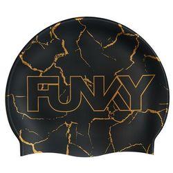 Funky Trunks Silicone Swimming Cap Boys, czarny 2021 Czepki