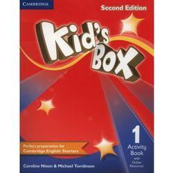 Kid's Box 1 Second Edition. Ćwiczenia z Dostępem do Ćwiczeń Online (opr. miękka)