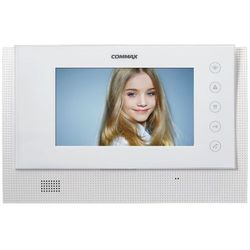 """Monitor 7"""" głośnomówiący systemu Gate View Commax CAV-70CG WHITE"""