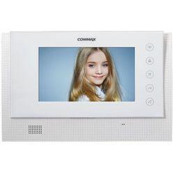 """Monitor 7"""" głośnomówiący systemu Gate View Commax CAV-70CG(DC) WHITE"""