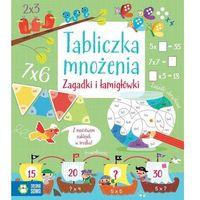 Książki dla dzieci, Tabliczka mnożenia, Zagadki i łamigłówki - Opracowanie zbiorowe (opr. miękka)