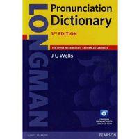 Słowniki, encyklopedie, Longman Pronunciation Dictionary + CD (opr. miękka)