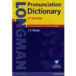 Longman Pronunciation Dictionary + CD (opr. miękka)