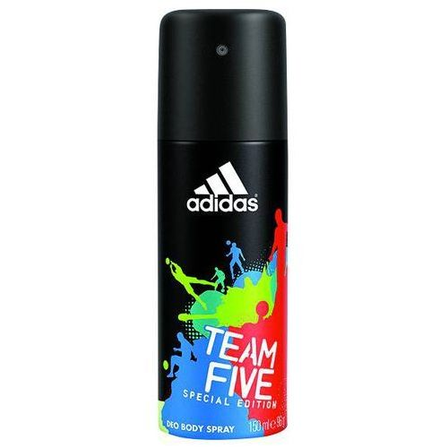 Dezodoranty męskie, Adidas Team Five Men, 150 ml. Dezodorant spray - Adidas