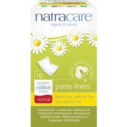 Wkładki higieniczne niebielone chlorem NORMAL 18 szt - NATRACARE
