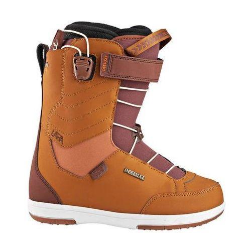 Buty do snowboardu, buty snowboardowe DEELUXE - RAY Lara CF brown (9220)
