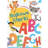 Książki dla dzieci, Bajkowe literki (opr. miękka)