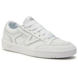 Sneakersy VANS - Lowland Cc VN0A4TZYOER1 (Leather) Truewht/Truewht