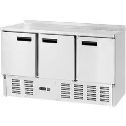 Stół chłodniczy, 3-drzwiowa, 0,23 kW, 1365x700x880 mm | STALGAST, 842039