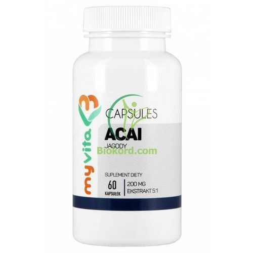 Tabletki na odchudzanie, Myvita Acai Tabletki 1000mg, Suplement Diety
