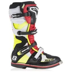 BUTY ALPINESTARS TECH 8 RS OFFROAD BLACK/RED/YELLOW