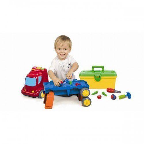 Warsztaty dla dzieci, Ciężarówka - zestaw z warsztatem 5O2935