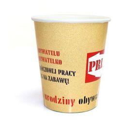 Kubeczki personalizowane PRL - 250 ml - 6 szt.
