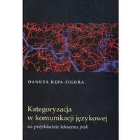 Językoznawstwo, Kategoryzacja w komunikacji językowej na przykładzie leksemu ptak (opr. miękka)