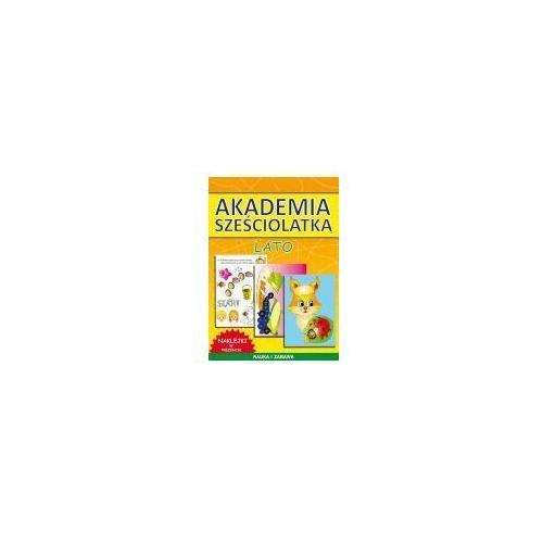 Książki dla dzieci, AKADEMIA SZEŚCIOLATKA. LATO (opr. miękka)