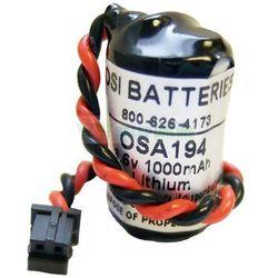 Bateria JZSP-BA01 R88A-BAT02W 3.6v 1.2Ah do sterowników Yaskawa JZSPBA01 R88ABAT02W