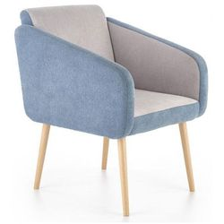 Fotel wypoczynkowy Levin - niebieski