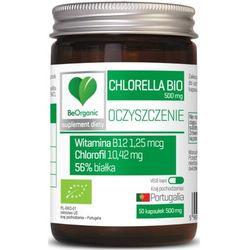 BeOrganic - Chlorella BIO 500mg - 100kaps