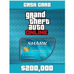 Grand Theft Auto Online: Tiger Shark Cash Card - Windows - Akcja