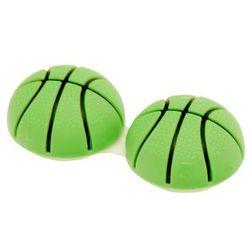 Pojemniczek na soczewki - piłka koszykowa