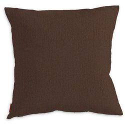 Dekoria Poszewka Kinga na poduszkę, czekoladowy szenil, 43 × 43 cm, Chenille