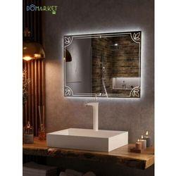 Lustro z oświetleniem ledowym do łazienki: ALISA-03