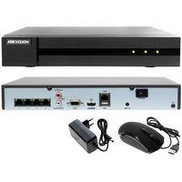 Rejestratory przemysłowe, Rejestrator cyfrowy sieciowy IP HWN-4104MH-4P Hikvision Hiwatch