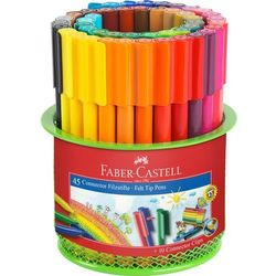 Flamastry w kubeczku 45 kolorów