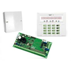 Komplet: Centrala alarmowa VERSA 10, manipulator VERSA-LED-GR, obudowa OPU-4 P