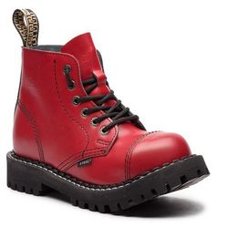 Glany STEEL - 127/O/F Full Red
