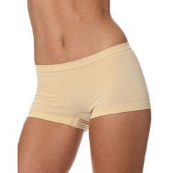 Bokserki damskie Brubeck Comfort Cotton BX10470 beżowe