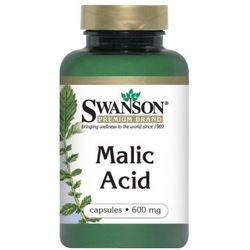 Swanson Malic Acid (Kwas jabłkowy) 600mg 100 kaps.