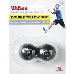 Wilson 2-Pack BALL 2 kropki żółte