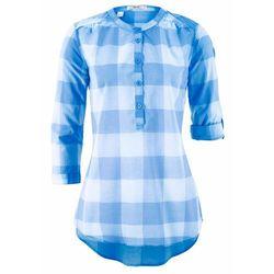 Shirt z krótkim rękawem i okrągłym dekoltem bonprix jasnoróżowy cukierkowy z nadrukiem