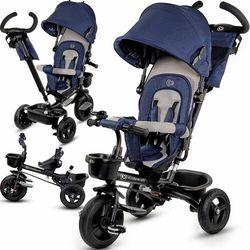 KinderKraft rowerek trójkołowy AVEO niebieski
