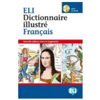 Książki do nauki języka, Dictionnaire illustre Francais avec CD-ROM (opr. twarda)