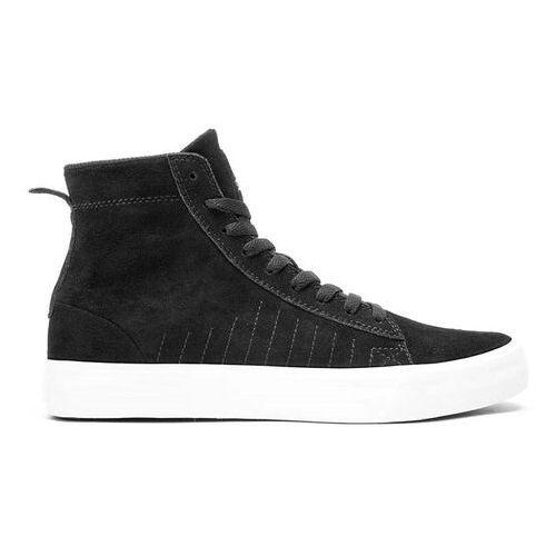 Męskie obuwie sportowe, buty SUPRA - Belmont High Black/White-White (BKW) rozmiar: 45.5
