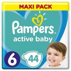 Pampers pieluchy Active Baby Dry Maxi Pack S6 44szt- natychmiastowa wysyłka, ponad 4000 punktów odbioru!