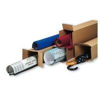 Przybory do pakowania, Tuba wysyłkowa kwadratowa, 3-warstwa, 800x150x150 mm, 30 szt