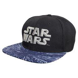 Czapka GOOD LOOT Star Wars Front Logo Snapback Czarno-niebieski