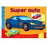 Kolorowanki, Super auta - malowanka z naklejkami LITERKA